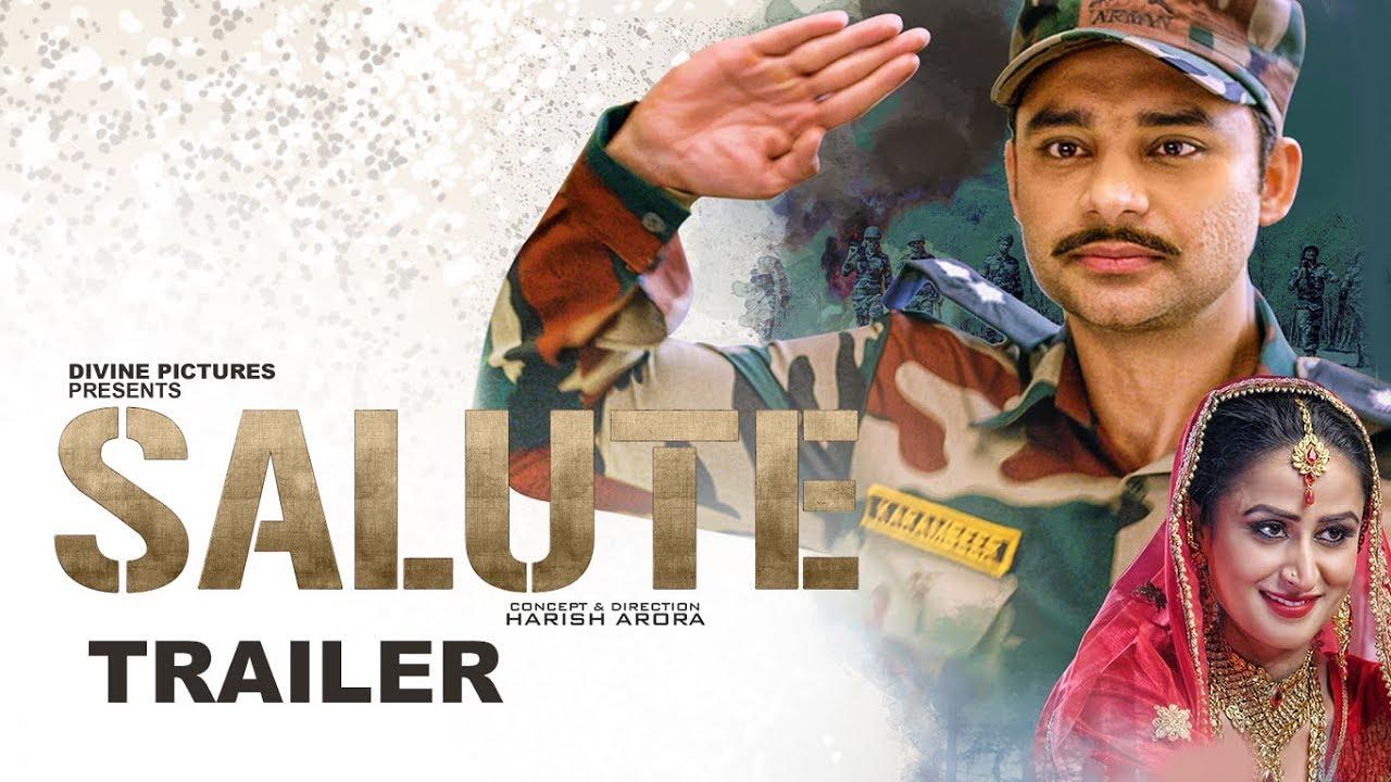 SALUTE (Trailer) Nav Bajwa, Jaspinder Cheema, Sumitra Pednekar   Punjabi Movies 2018