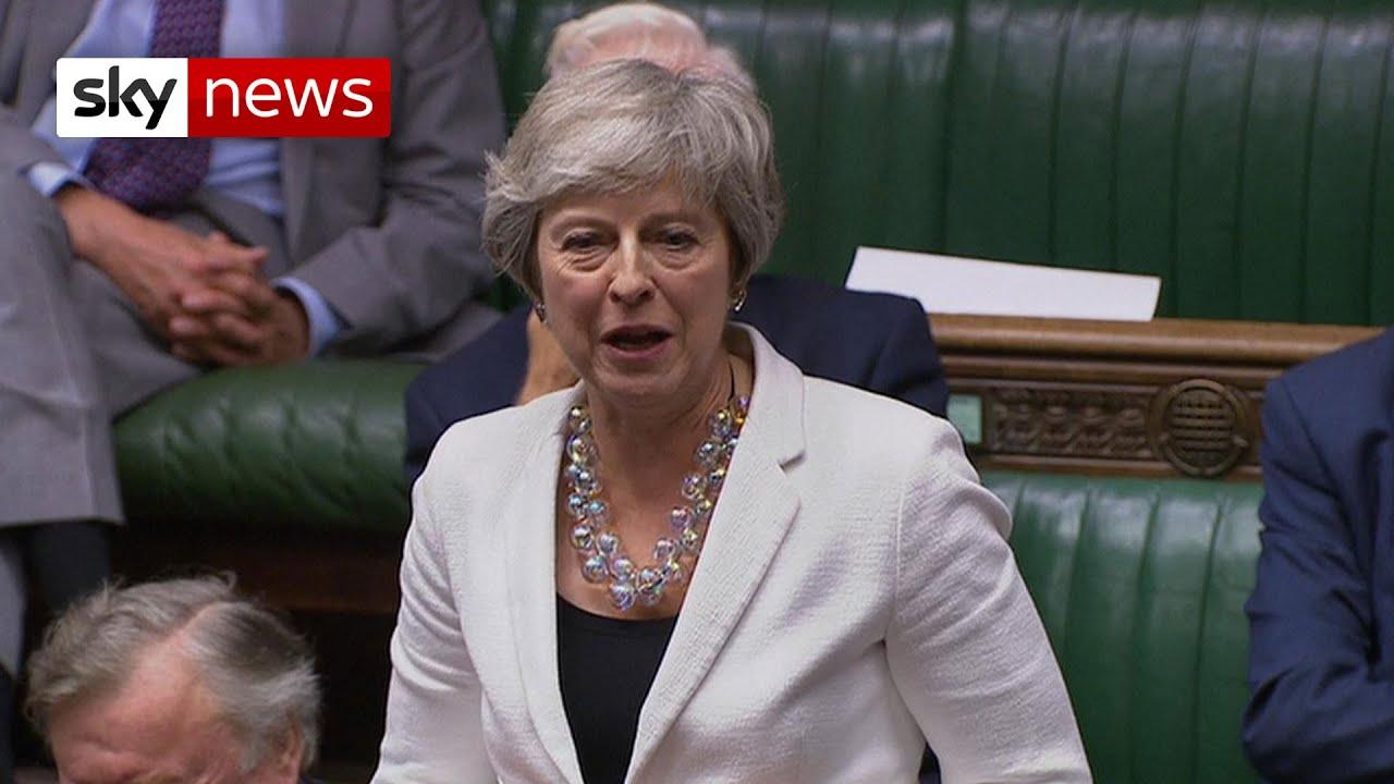 Theresa May on Boris Johnson's new Brexit deal