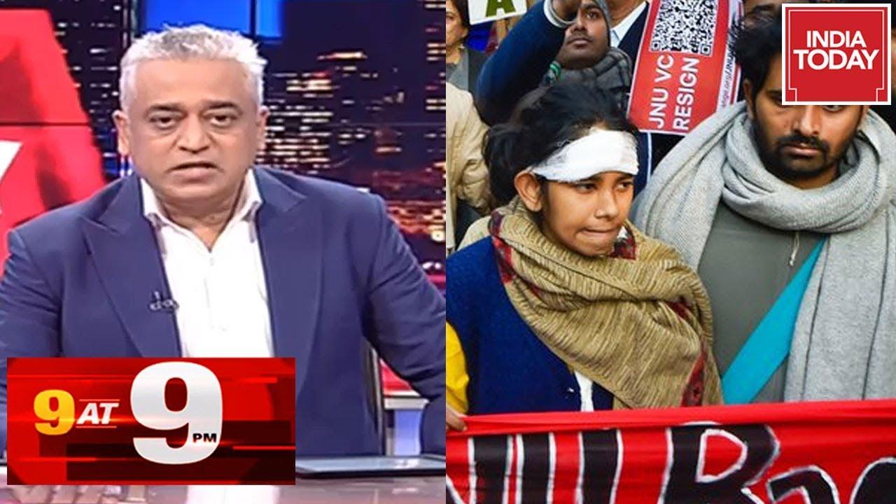 Top 9 Headlines Of The Day With Rajdeep Sardesai   India Today   January 9, 2020