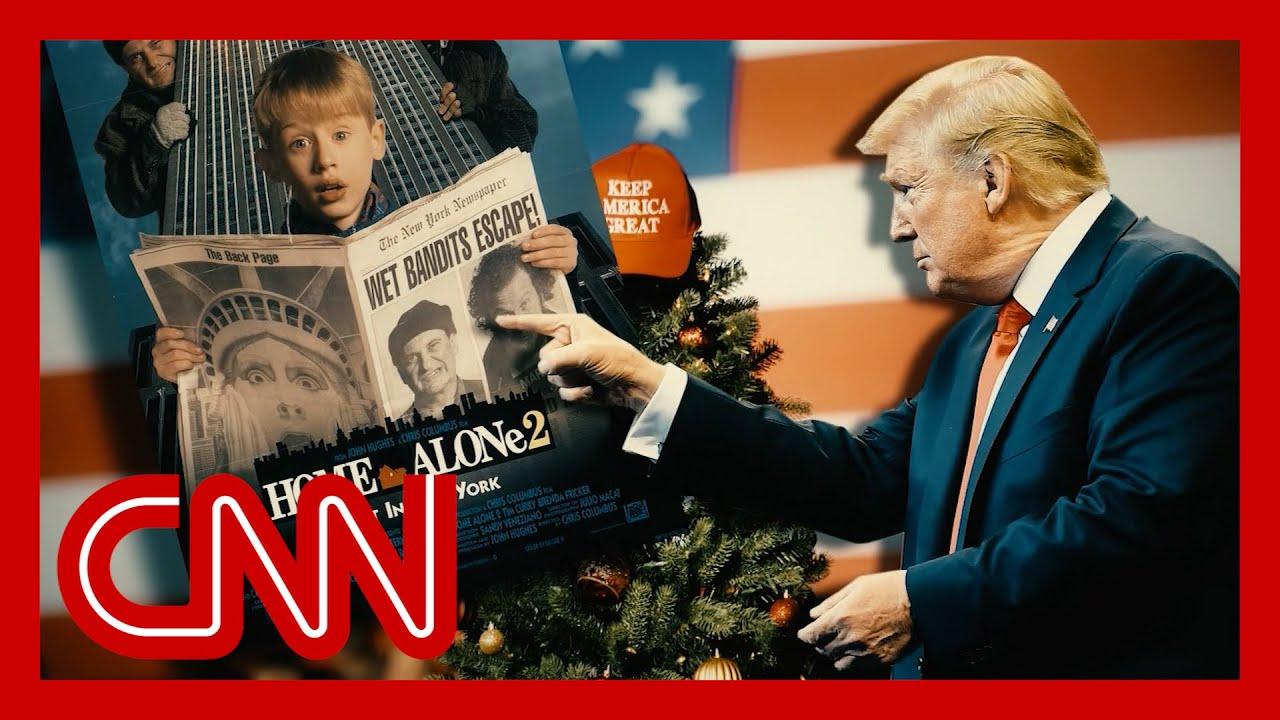 Trump falsely blames Trudeau for editing 'Home Alone 2' scene