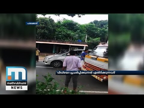 Viral Video Shows PK Sasi Warning Lorry Driver; Lorry Driver Accepts Mistake, Says MLA Advised Him|