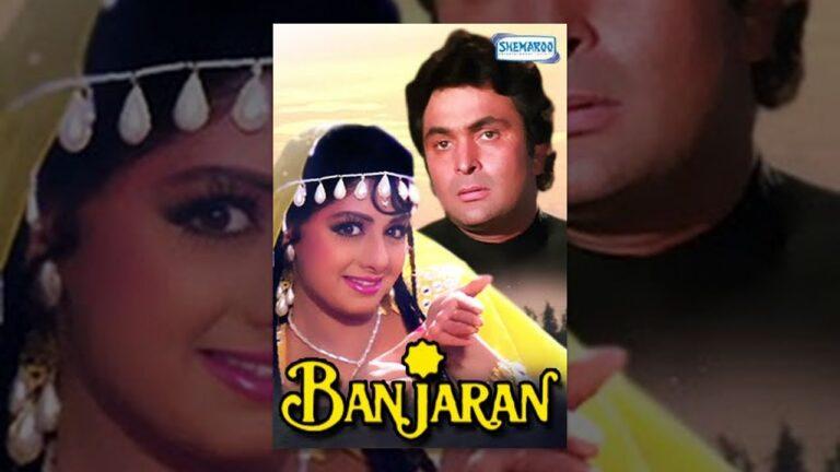 Banjaran Hindi Full Movie - Rishi Kapoor - Sridevi - Kulbhushan Kharbanda - 90's Hit Movie