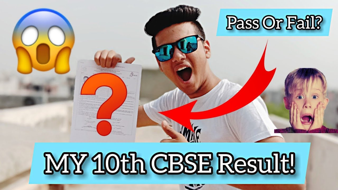 CBSE BOARD EXAM RESULT😱    My CBSE BOARD Result Class 10th 2019 REACTION    Pass or Fail?