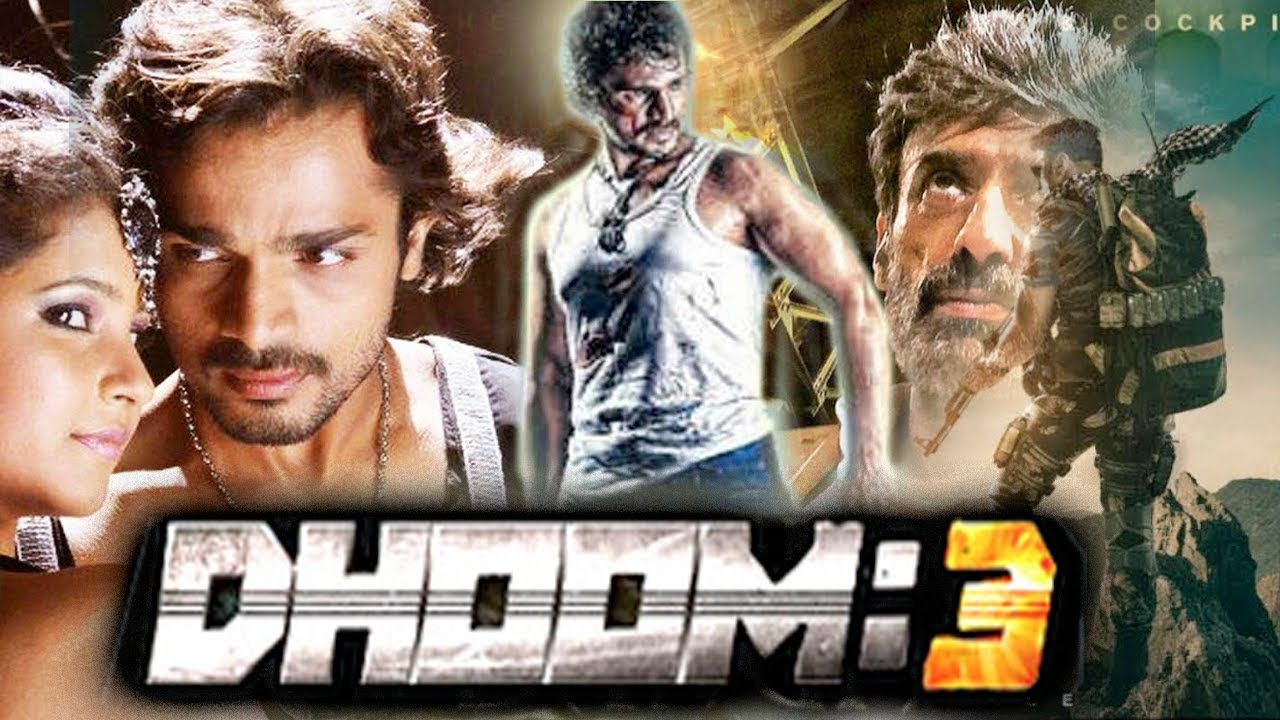 DHOOM 3 | New Hindi Dubbed South Action Movies 2017 | New Release HD Movies