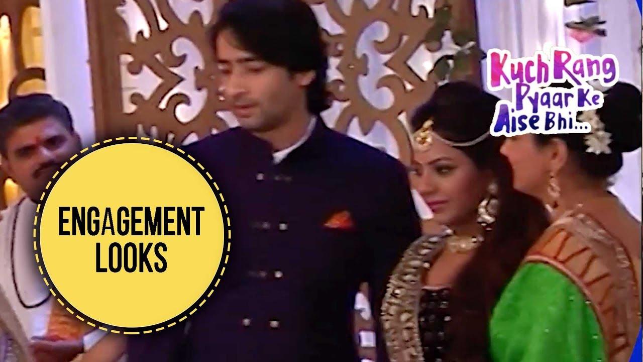 Engagement Look   Kuch Rang Pyar Ke Aise Bhi - Coming Up - Indian Hindi TV Serials Online Free