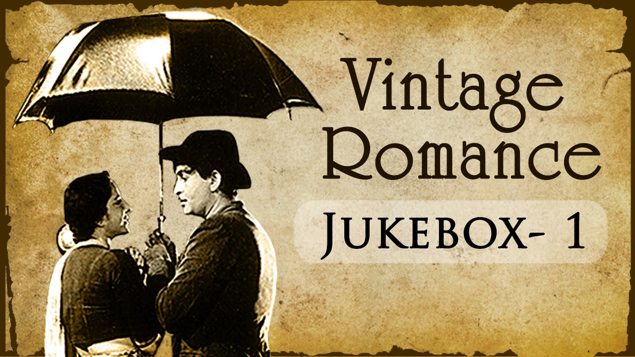 Evergreen Vintage Romance Collection (HD)   Jukebox   Black And White Hindi Hit Songs
