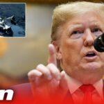 Iran plane crash - Donald Trump says 'I have my suspicions' as shot down theory emerges