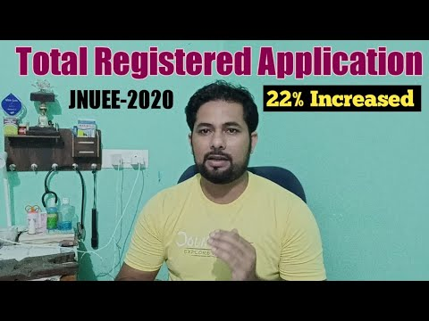 JNUEE Total Application Filled in 2020 | JNUEE-2020 Total Vacant Seats | JNUEE Application  details