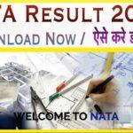 NATA Result 2020