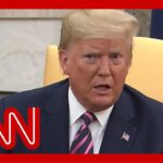 Reporter asks Trump how it feels to be 3rd impeached president