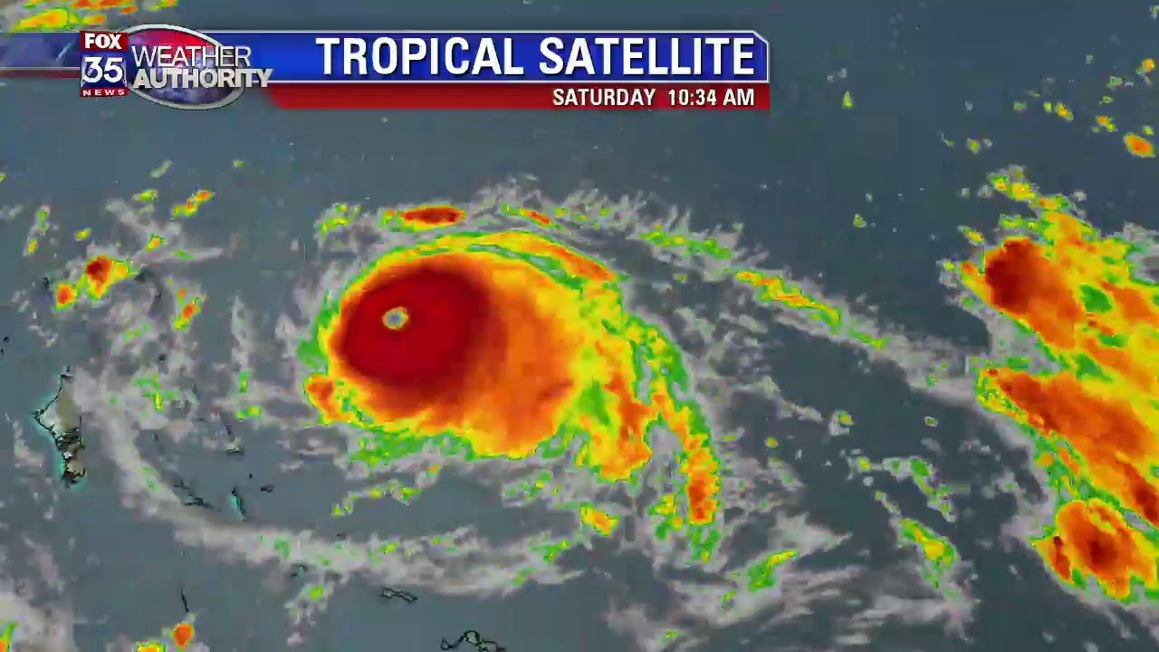 TRACKING DORIAN: Latest advisory from the National Hurricane Center
