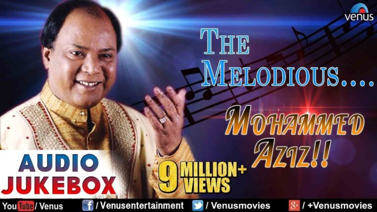 The Melodious : Mohammed Aziz ~ Bollywood Romantic Hits   Audio Jukebox   Hindi Love Songs