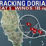 The latest: Catastrophic Hurricane Dorian makes landfall in the Bahamas, heads west