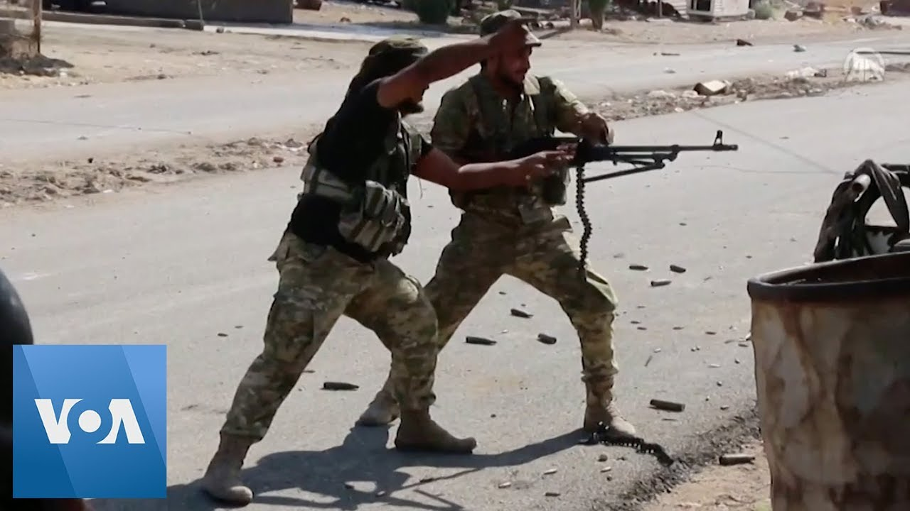 Turkish News Video Shows Heavy Fighting in Syrian Border Town