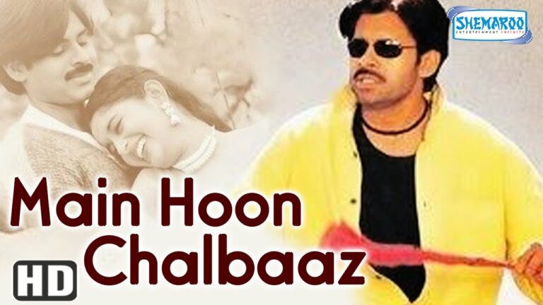 Best Hindi Dubbed Movie - Main Hoon Chalbaaz (2008)(HD & Eng Subs) Pawan Kalyan, Meera Jasmine