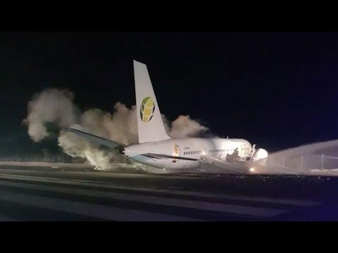Fly Jamaica flight to Toronto crash lands at airport in Guyana