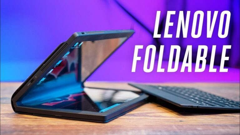 Lenovo ThinkPad X1 Fold hands-on