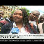 Vijana 1,000 walia baada ya kutapeliwa kuhusu ajira, Nairobi