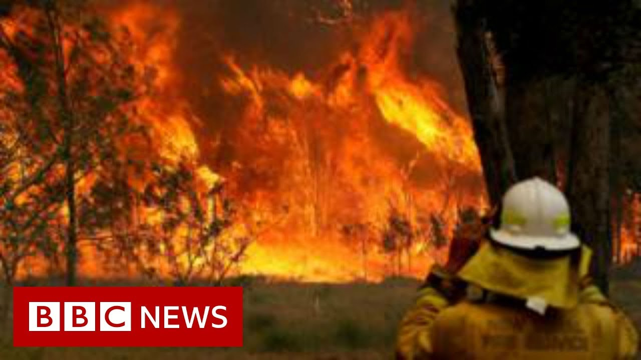 Australia fires: Morrison heckled by bushfire victims  - BBC News