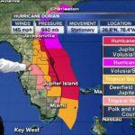5 PM UPDATE: Hurricane Dorian 'stationary' over The Bahamas