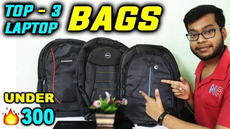 Best Laptop Bag Under 300 | Lenovo, Dell, HP Laptop Backpack | 15.6 inch Laptop Bag Under 500