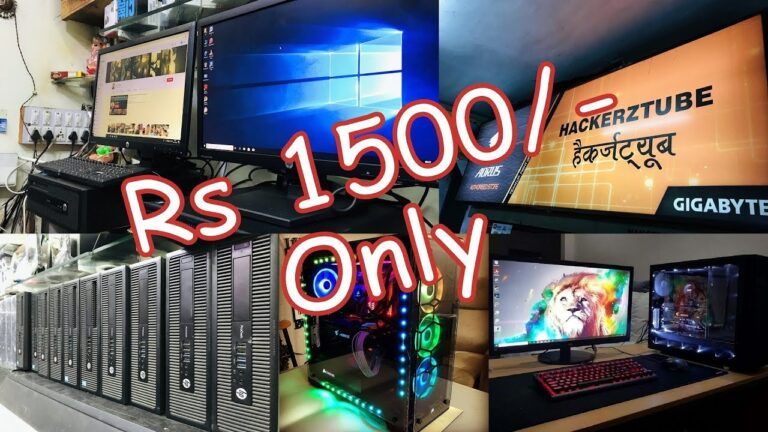 Cheap Computers Starting At Rs 1500 | Indore Computer Market..!!!
