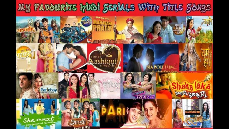 My Favourite Hindi Serials With (Full) Title Songs Part 1