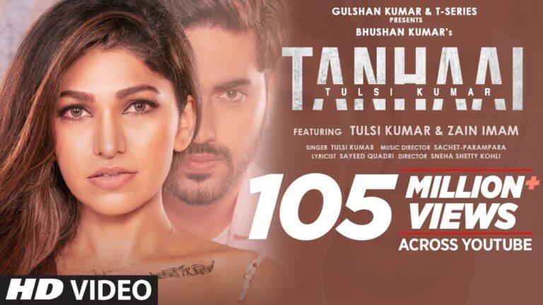 Tulsi Kumar: Tanhaai Video Song | Sachet-Parampara, Zain I, Bhushan Kumar | Hindi Romantic Song 2020