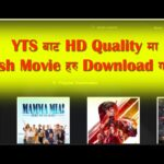 How to download Hd quality English movie using the YTS website?