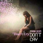[MP3 DOWNLOAD] Park Bom- Don't Cry w/ Romanized & English Lyrics