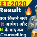 NEET RESULT 2020 Date | Result Time | Counselling Date and Process | Chandrahas Sir