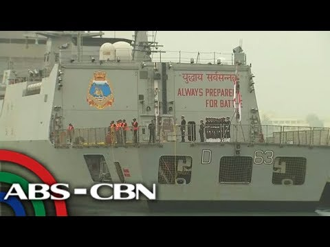Philippines' largest warship in China for goodwill visit   ANC
