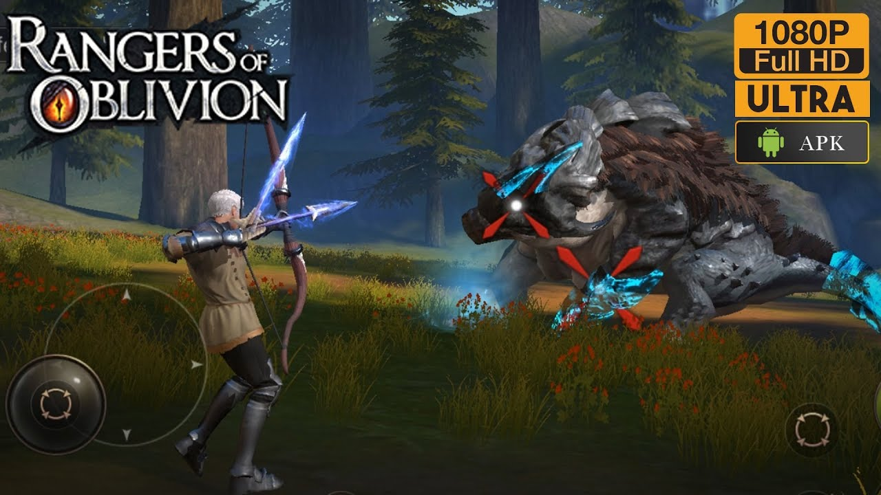 Rangers Of Oblivion Gameplay Android Max Graphics (Soul Of Hunter English)