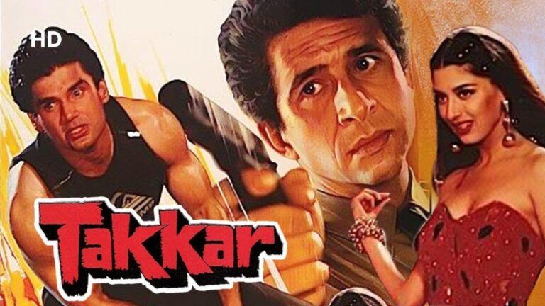 Takkar (HD) - Hindi Full Movie - Sunil Shetty, Sonali Bendre, Naseeruddin Shah - Hindi Action Movie