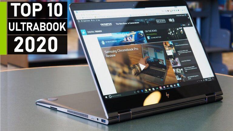 Top 10 Best Ultrabook to Buy in 2020 | Dell vs HP vs Lenovo