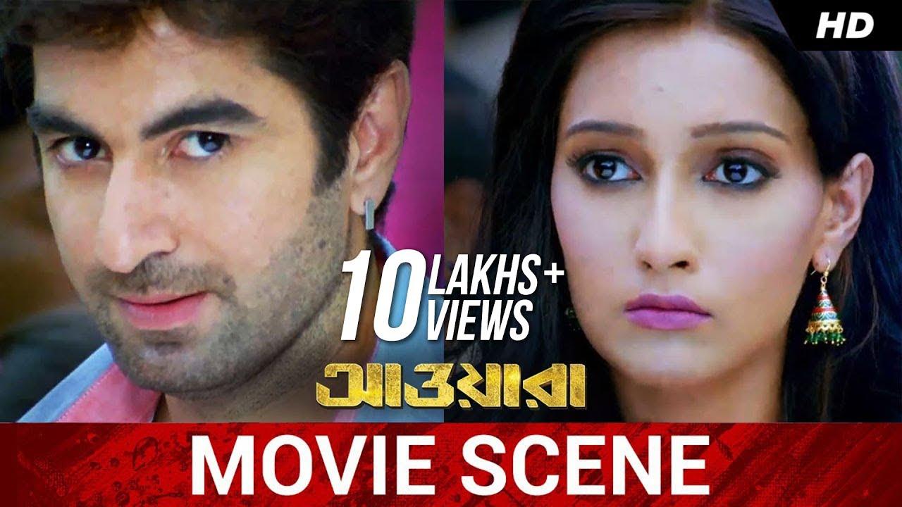 শালার সাথে প্রথম আলাপ !   Jeet   Sayantika   Kharaj   Awara   Movie Scene   SVF