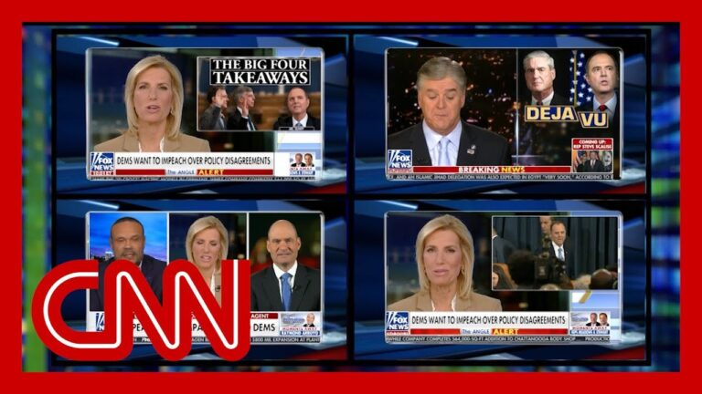 Fox News hosts attack impeachment witnesses