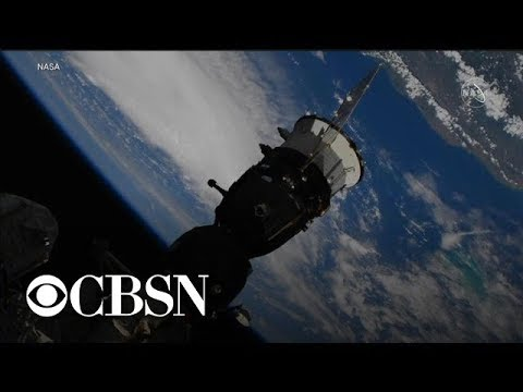 Hurricane Dorian seen over Bahamas from space station