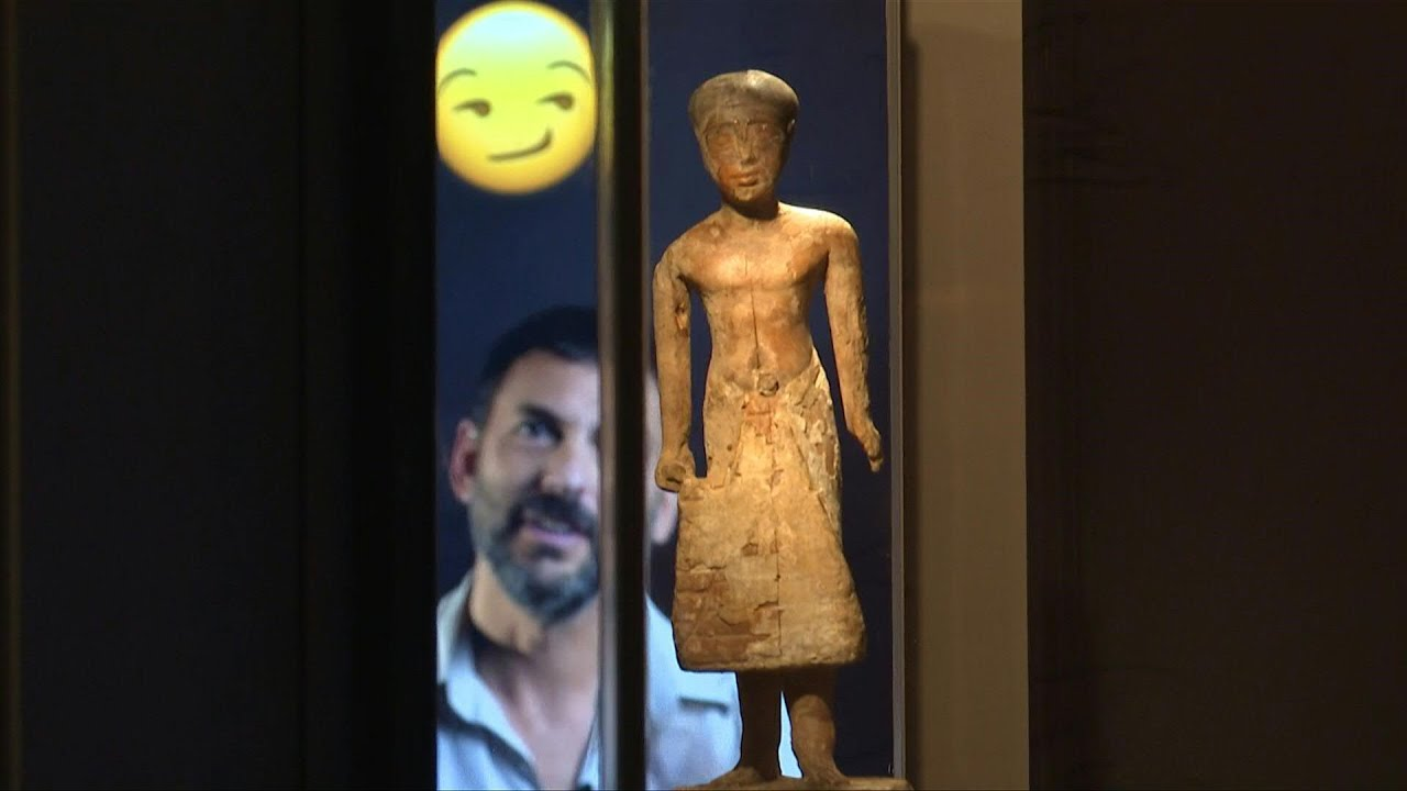 Israeli museum explains the emojis of ancient Egypt   AFP