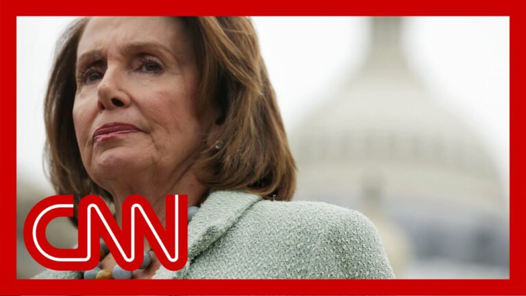 Pelosi finished impeachment, then came an unusual statement