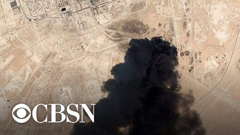 Trump administration blames Iran for Saudi Arabia oil attack