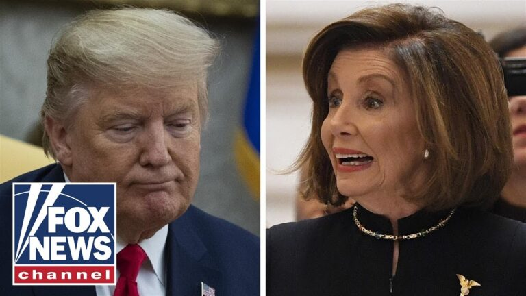 Trump and Pelosi trade blows on Twitter over the holidays