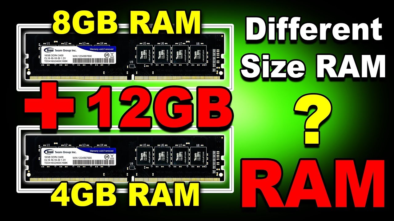 🔥 8GB + 4GB = 12GB RAM 🔥 Different Size RAM Use Together? (Hindi)