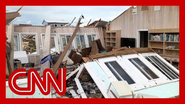Abaco Islands of Bahamas ravaged by Hurricane Dorian