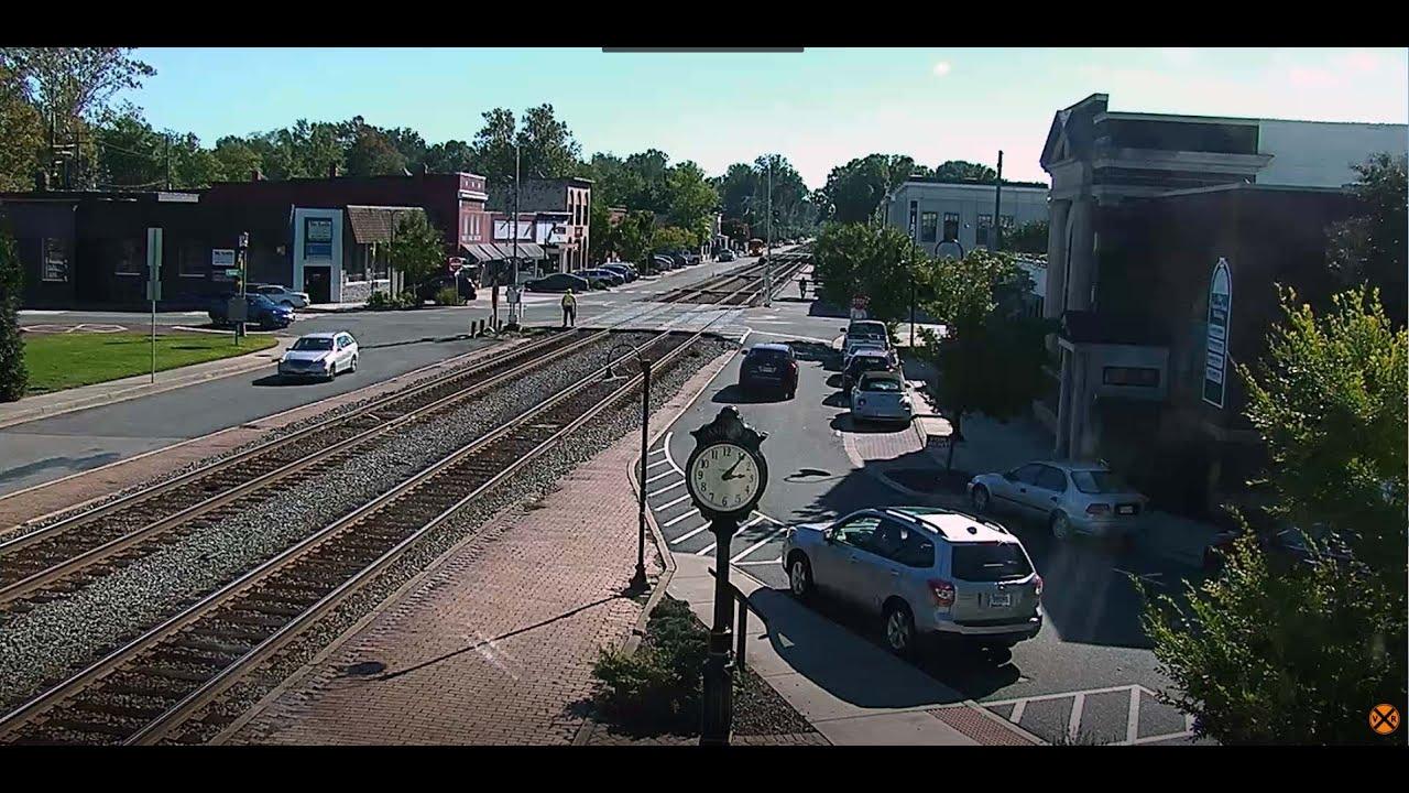 Ashland, Virginia USA   Virtual Railfan LIVE