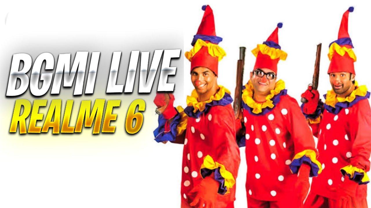 BGMI LIVE REALME 6 | BGMI REALME 6 TEST