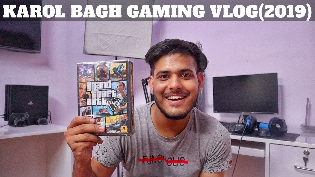 BOUGHT GTA 5 FOR PC FROM KAROL BAGH(2019)😍.