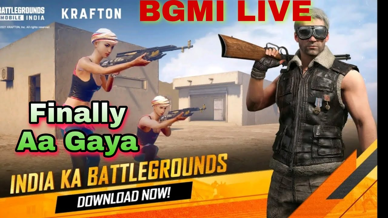 Battleground mobile india live | Download now | Teamcoade Gamplay | ClavyKnight