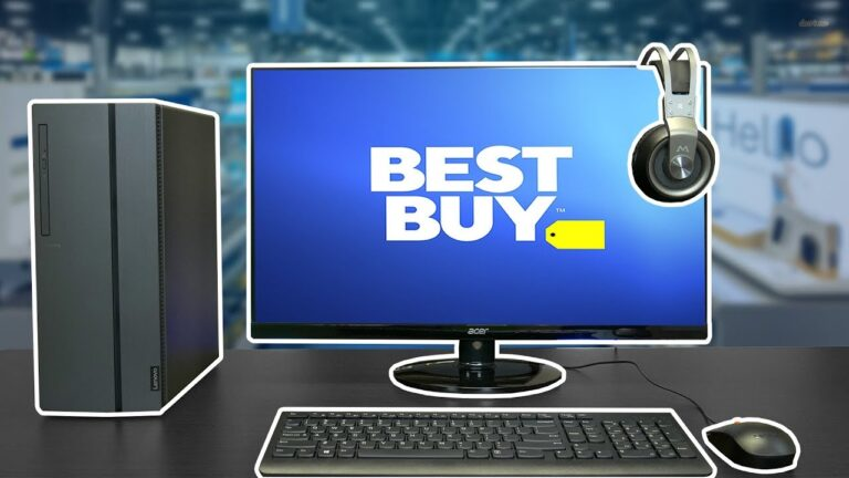 Best Buy Gaming Setup | $650 PC, Keyboard, Mouse & Monitor!