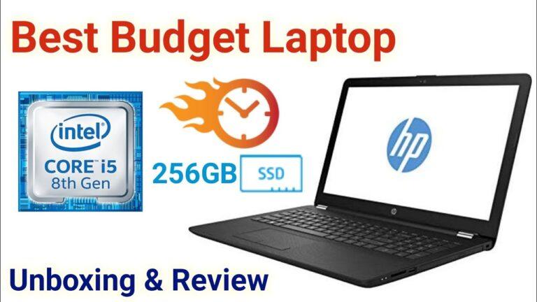 Best HP Laptop 2020 | HP Laptop Core i5 8th gen Unboxing & Review | HP 15-da1058tu with Windows 10